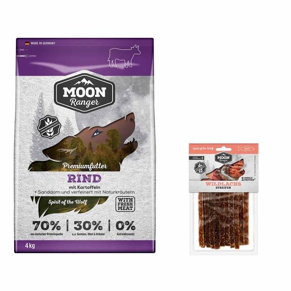 Moon Ranger Rind 4kg + Wildlachs Streifen gratis