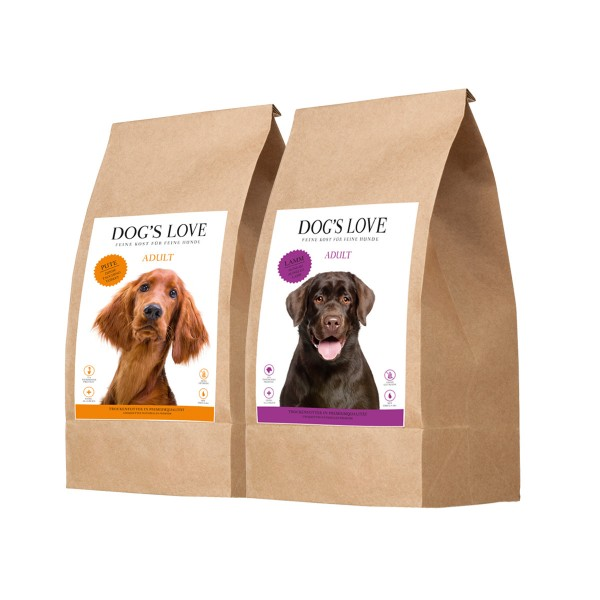 Dog's Love Mixpaket getreidefrei 2x2kg