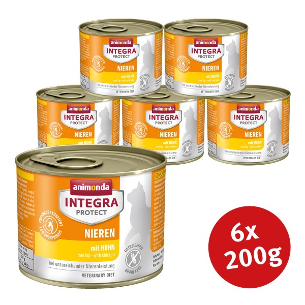 Animonda Integra Protect Katzenfutter Adult Niereninsuffizienz Huhn