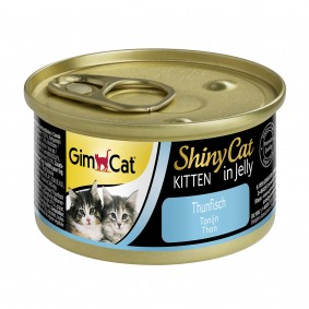 GimCat ShinyCat Kitten Thunfisch 6 x70g