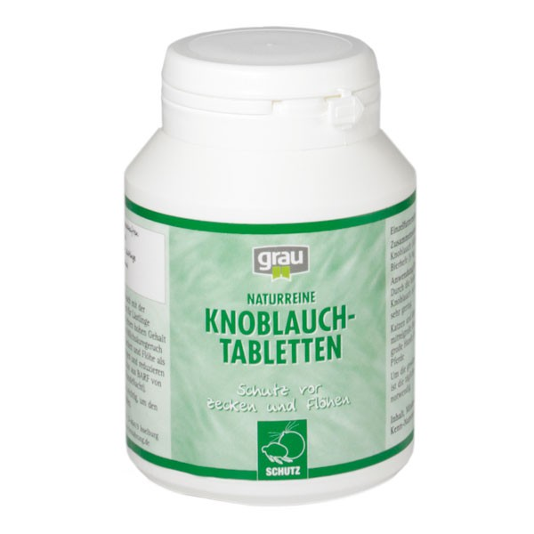 Grau Knoblauch Tabletten