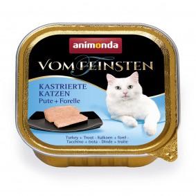 Animonda Vom Feinsten für kastrierte Katzen Pute und Forelle