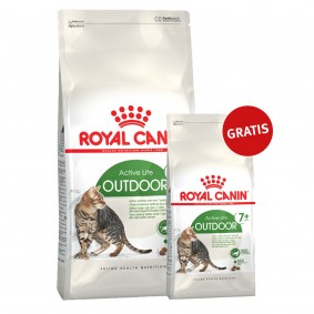 Royal Canin Katzenfutter Outdoor Mature +7 10kg+2kg gratis