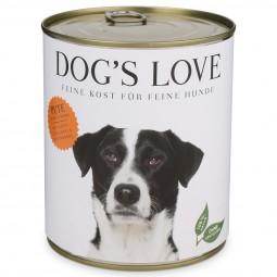 Dog's Love Classic Pute mit Apfel, Zucchini & Walnussöl