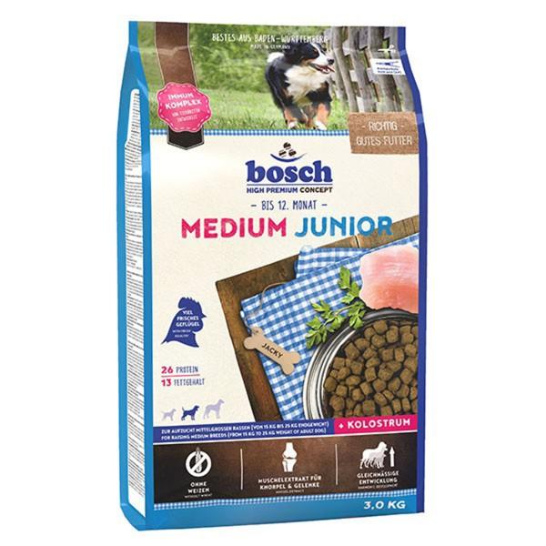 Bosch Hundefutter Medium Junior - 3kg