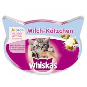 Whiskas Katzensnack Knusper-Taschen Milch-Kätzchen