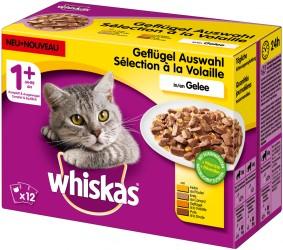 Whiskas Adult 1+ Geflügelauswahl in Gelee