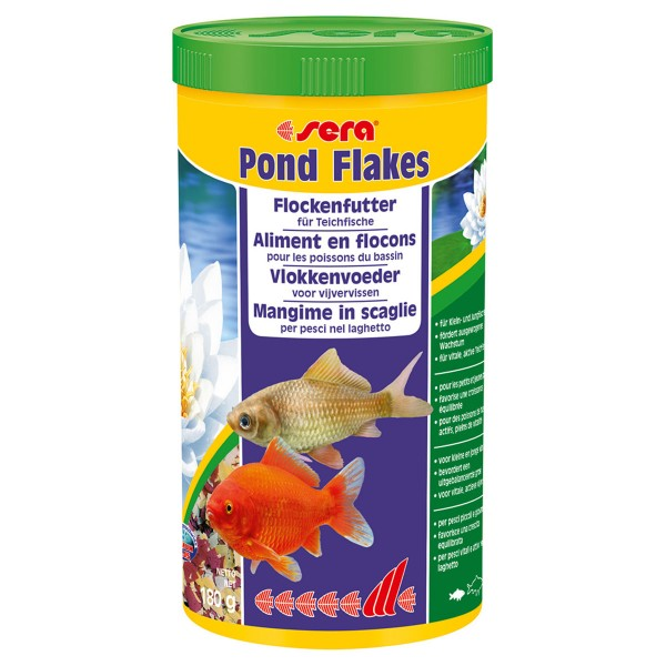 sera pond flakes