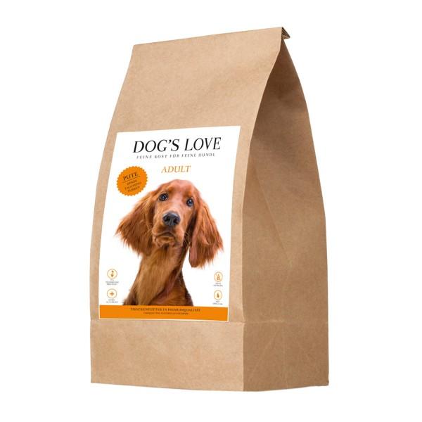 Dog's Love Pute mit Süßkartoffel und Preiselbeere