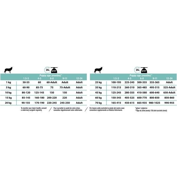 Pro Plan OPTIDIGEST reich an Lamm für die Darmgesundheit der Welpen