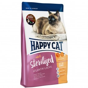 Happy Cat Sterilised Atlantik-Lachs