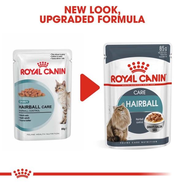 ROYAL CANIN Hairball Care Katzenfutter nass gegen Haarballen 48x85g