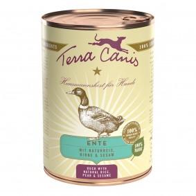 Terra Canis Ente mit Naturreis, Rote Beete, Birne und Sesam
