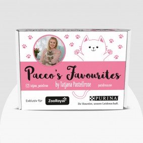 Purina Überraschungsbox Katze – Pacco`s Favourites by Tatjana Pastellrose