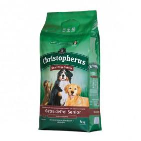 Christopherus Hundefutter Getreidefrei Ente + Kartoffel Senior
