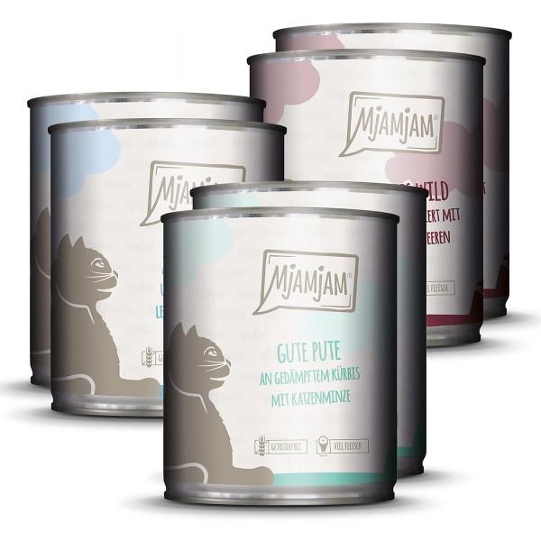 MjAMjAM Mixpaket II Wild & Kaninchen, Pute, Ente & Geflügel