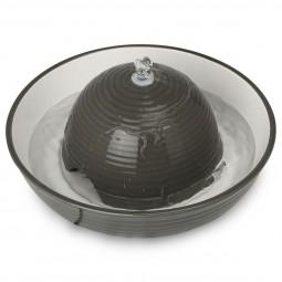 Trixie Trinkbrunnen Keramik Vital Flow 1,5 l, grau/weiß