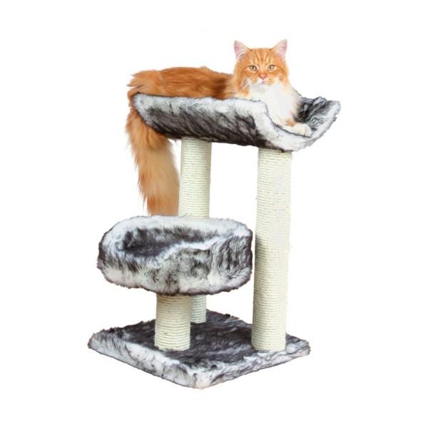 Trixie Arbre à chat Isaba 62 cm - noir/blanc