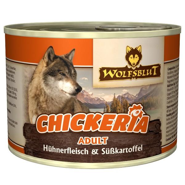 Wolfsblut Chickeria Adult Hühnerfilet Süsskartoffel