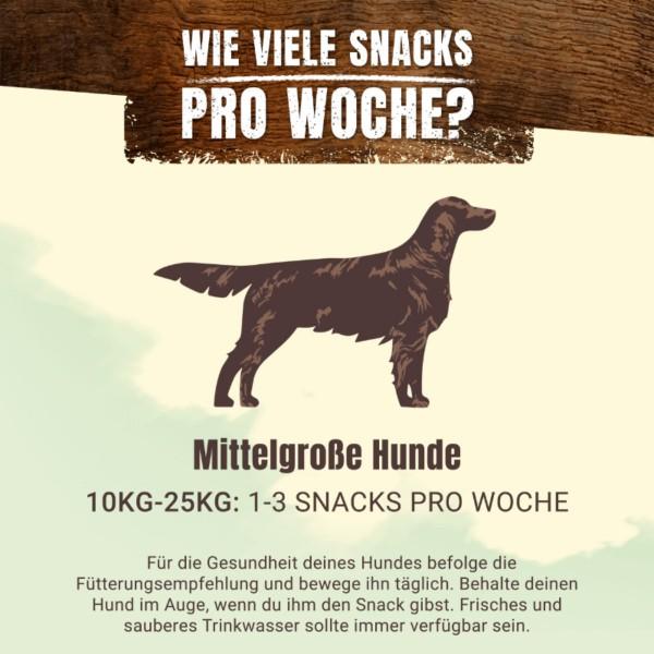 AdVENTuROS Wild Chew Hirsch für mittelgroße Hunde