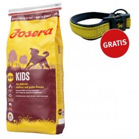 Josera Kids Junior Hundefutter 4kg + Reflektionshalsband GRATIS