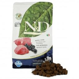 N&D Hundefutter Lamm&Heidelbeeren Adult getreidefrei