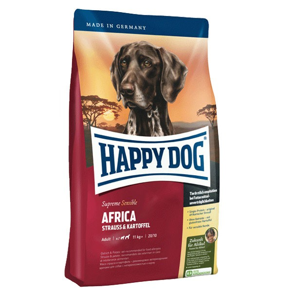 Interquell Happy Dog Supreme Sensible Africa - 4kg 44101730