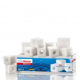 Filtermaster Filtermedien BigPack 2 für Eheim Pickup 60