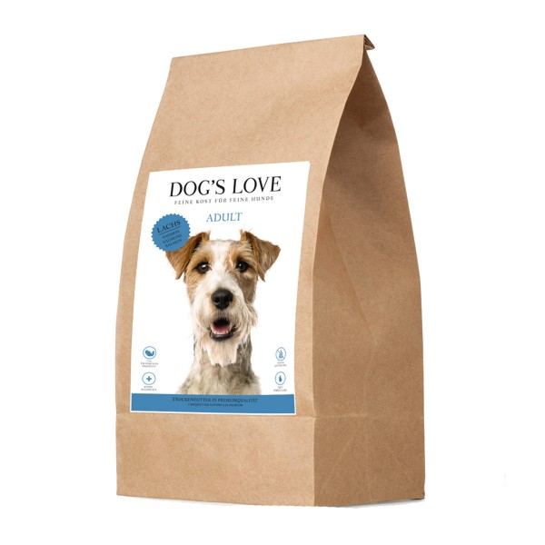 Dog's Love Lachs mit Süßkartoffel und Spargel
