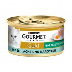 Gourmet Gold Feine Pastete Seelachs und Karotten