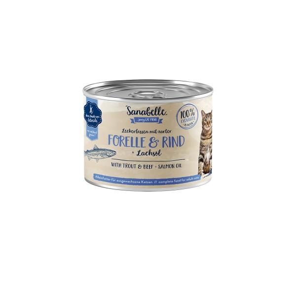 Sanabelle mit Forelle & Rind