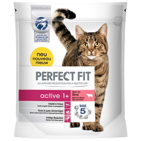 Perfect Fit Katzenfutter Active 1+ reich an Rin...