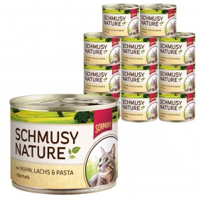 Schmusy Aliment complet pour chats 12x190g