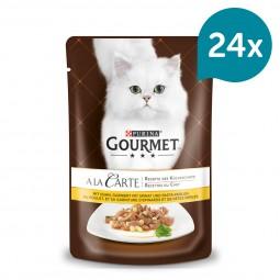Gourmet A la Carte Huhn garniert mit Pasta-Perlen
