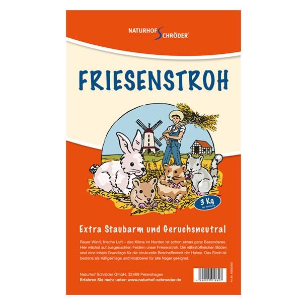 Naturhof Schröder Friesenstroh 3kg leicht gepresst