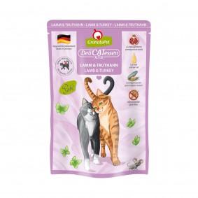 GranataPet Katze - Delicatessen Pouch Lamm & Truthahn