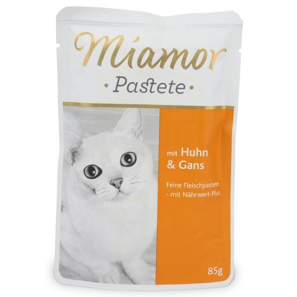 Miamor Katzenfutter Pastete Huhn und Gans
