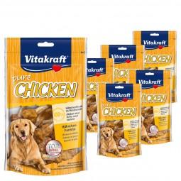 Vitakraft Hundesnack pure Chicken Hühnchenhanteln 4x80g + 2x80g gratis
