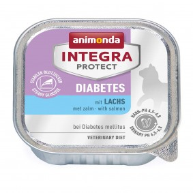 Animonda Katzenfutter Integra Protect Diabetes mit Lachs 6x100g