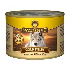 Wolfsblut Gold Fields mit Kamel