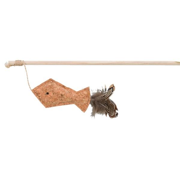 Trixie Kork Spielangel 40cm
