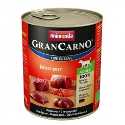 Animonda Hunde-Nassfutter GranCarno Adult Rind Pur