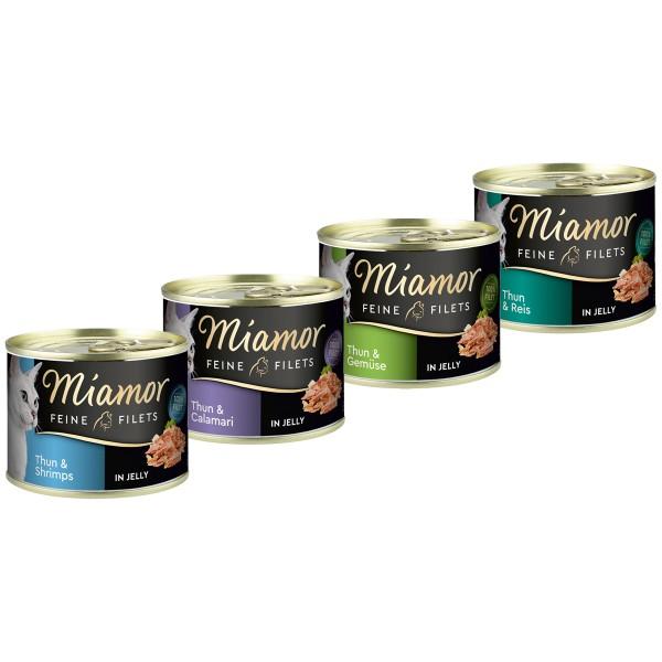 Miamor Feine Filets in Jelly Mixpaket