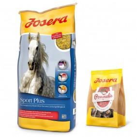 Josera Sport Plus 20 kg + Pommelie gratis