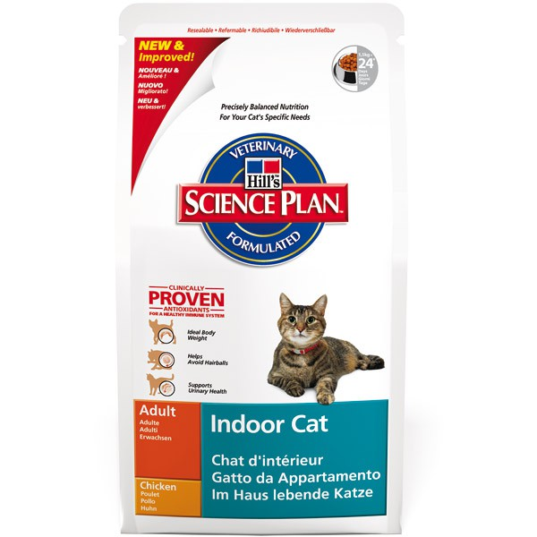 Hill's Feline Adult Indoor Cat mit Huhn