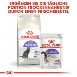 ROYAL CANIN STERILISED Trockenfutter für kastrierte Katzen 2kg