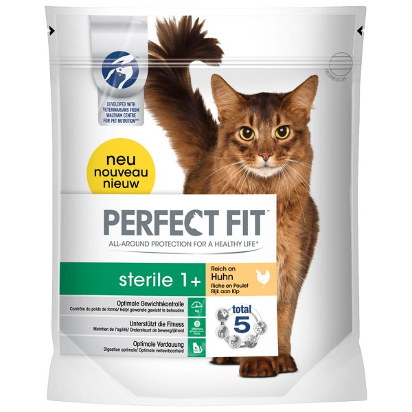 Perfect Fit Katzenfutter Sterile 1+ reich an Huhn 750g