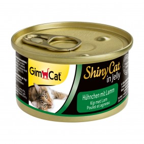 GimCat ShinyCat Hühnchen & Lamm