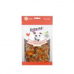 Dokas Hundesnack Hühnerbrust mit Karotte 70g