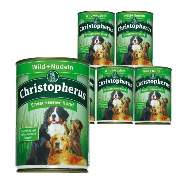 Christopherus Hundefutter: Wild & Nudeln